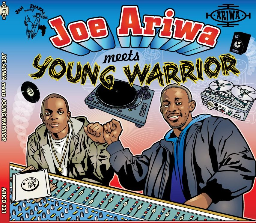 JOE ARIWA MEETS YOUNG WARRIOR