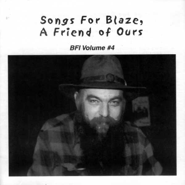 BLAZE FOLEY TRIBUTE - VOL 4 - SONGS FOR BLAZE