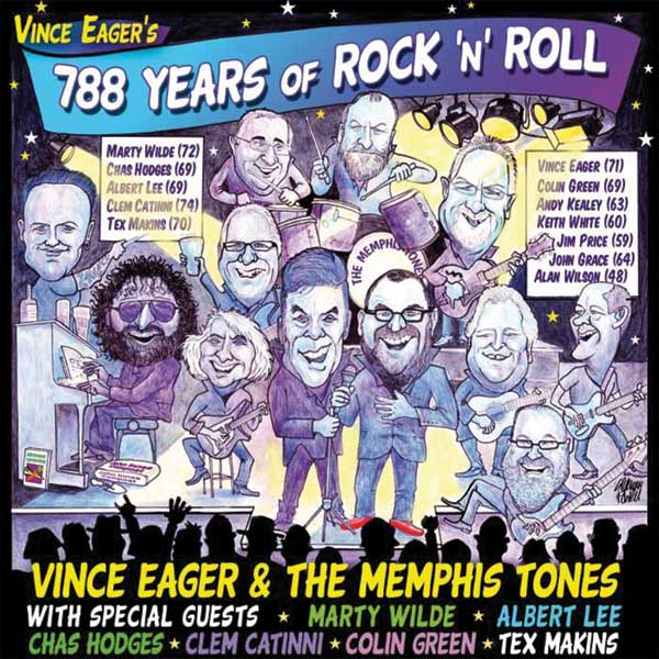 788 YEARS OF ROCK AND ROLL