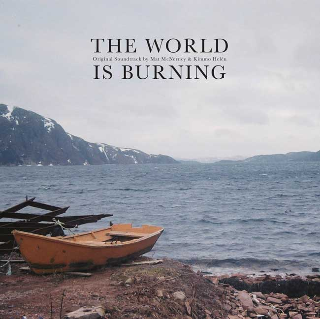 THE WORLD IS BURNING - LP