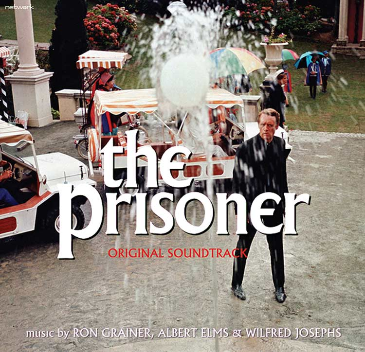 THE PRISONER OST - BLACK VINYL