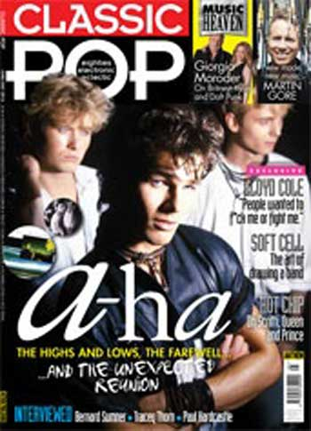 CLASSIC POP AUG/SEP ISSUE