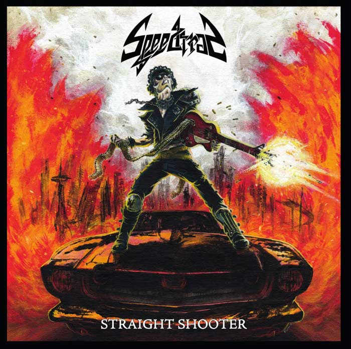 STRAIGHT SHOOTER - RED VINYL LP