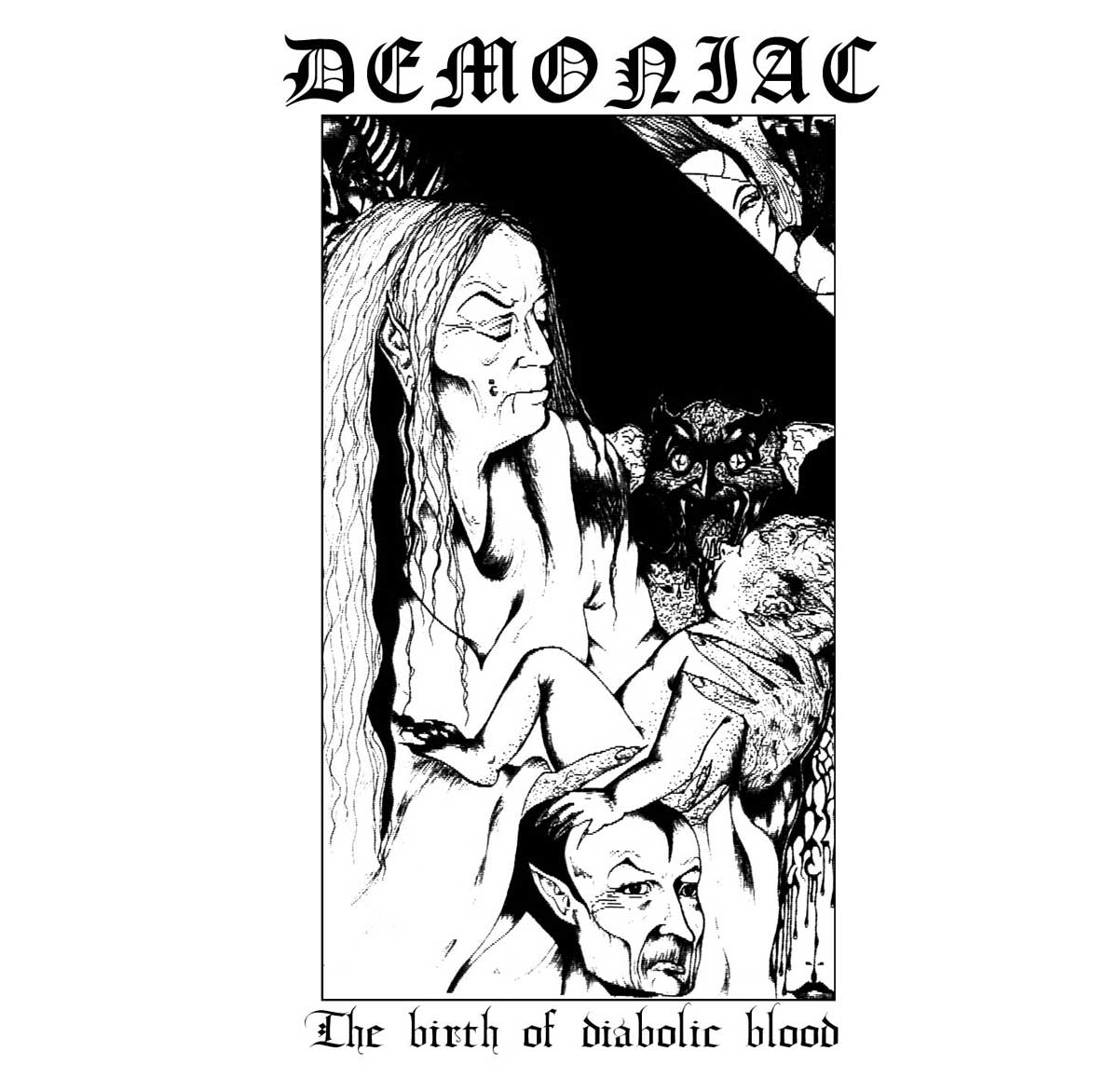The Birth Of Diabolic Blood (Limited To 300 Copies) [VINYL]