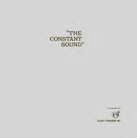 THE CONSTANT SOUND