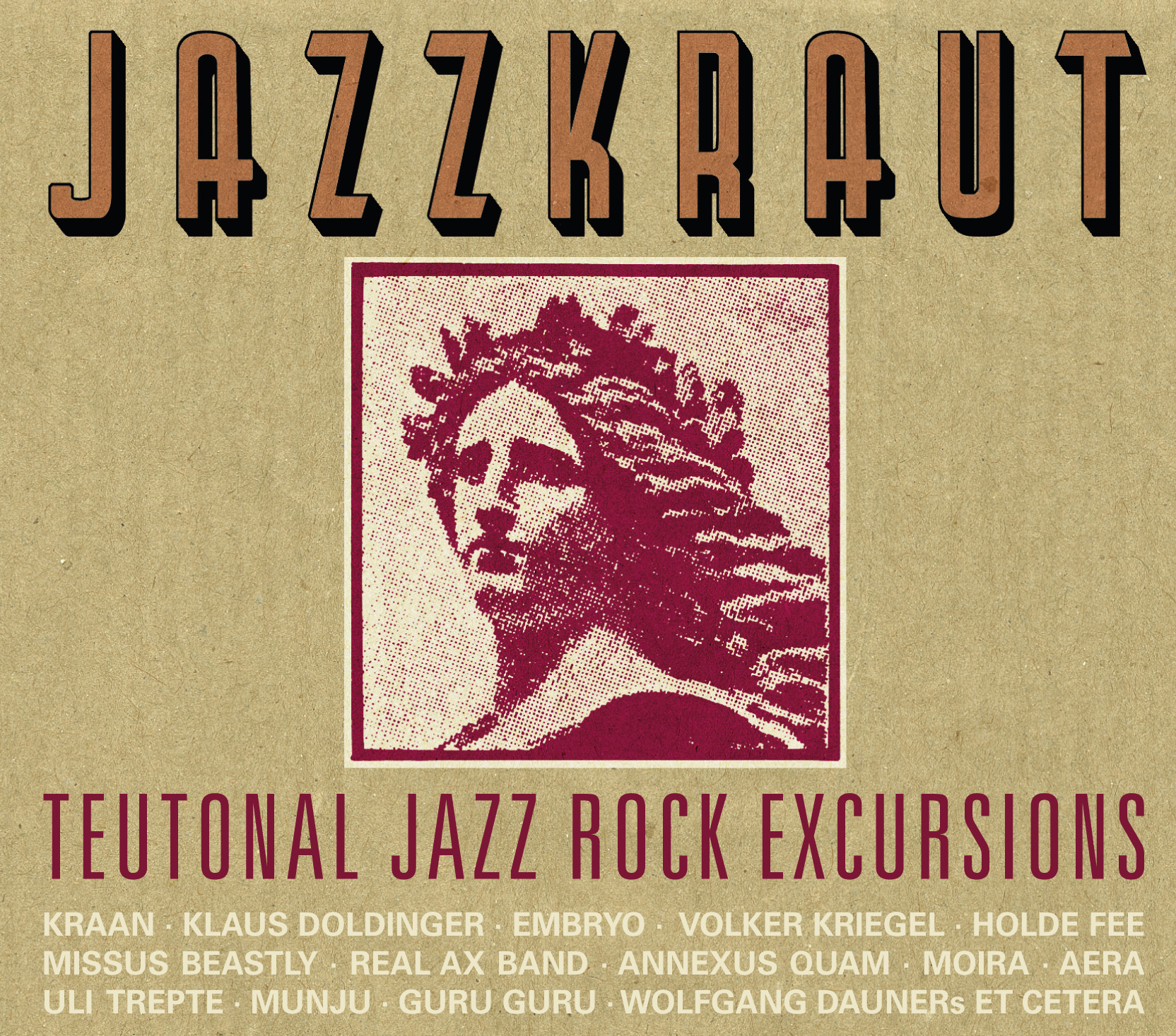 JAZZKRAUT - TEUTONIC JAZZ ROCK