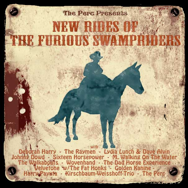 NEW RIDES OF THE FURIOUS SWAMPRIDERS - LP