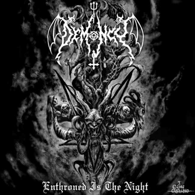 ENTHRONED IS THE NIGHT - LP