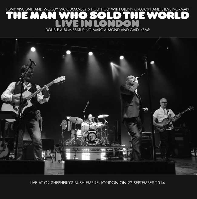 THE MAN WHO SOLD THE WORLD LIVE IN LONDON - LP