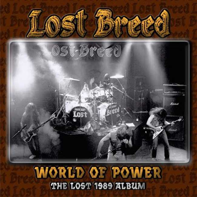WORLD OF POWER THE LOST 1989 ALBUM