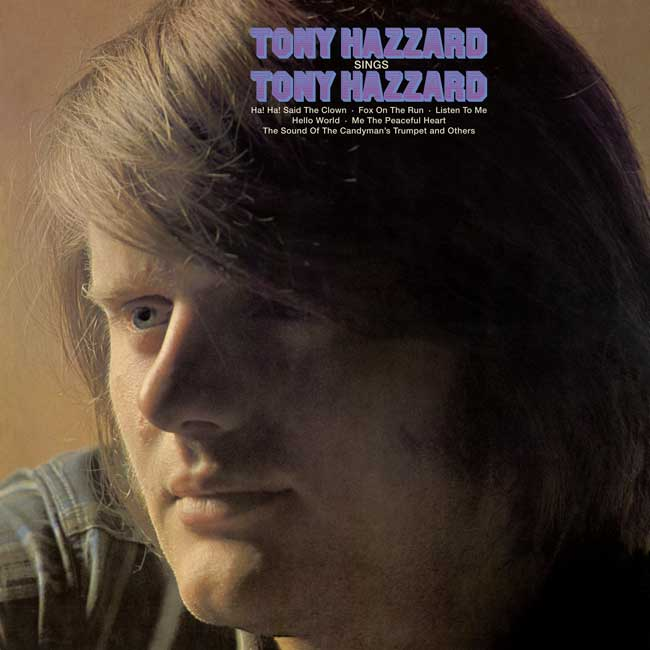 SINGS TONY HAZZARD - LP