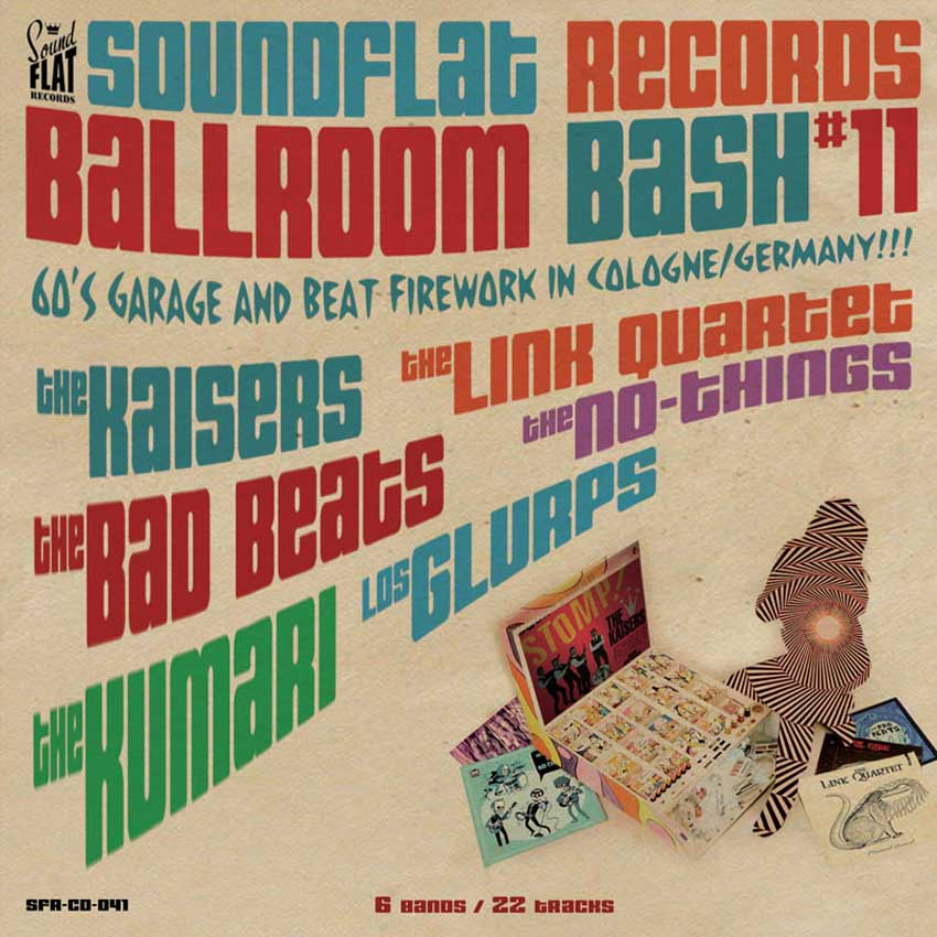 Soundflat Records Ballroom Bash Compilation Vol 11